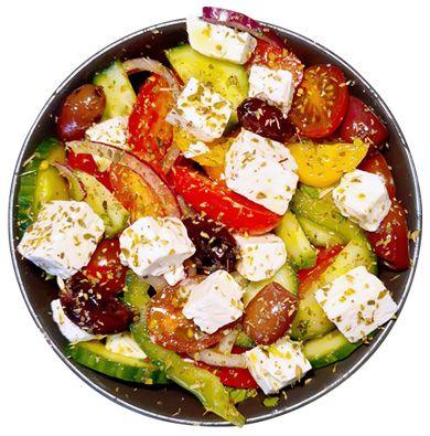 Horiatiki Feta Salat